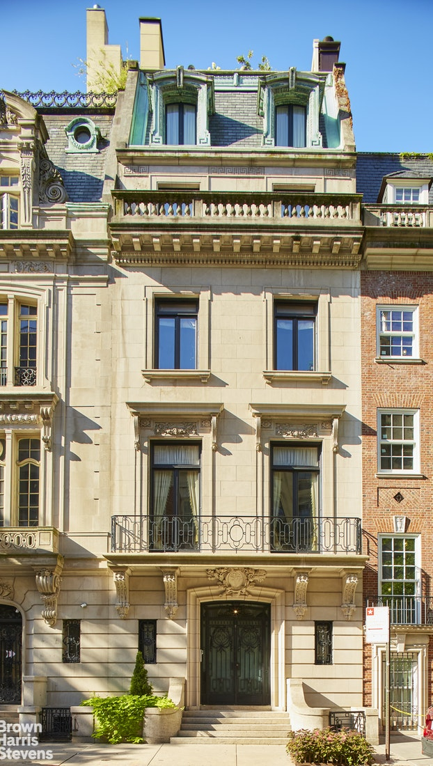 RENOVATED LIMESTONE MANSION OFF 5th AVE