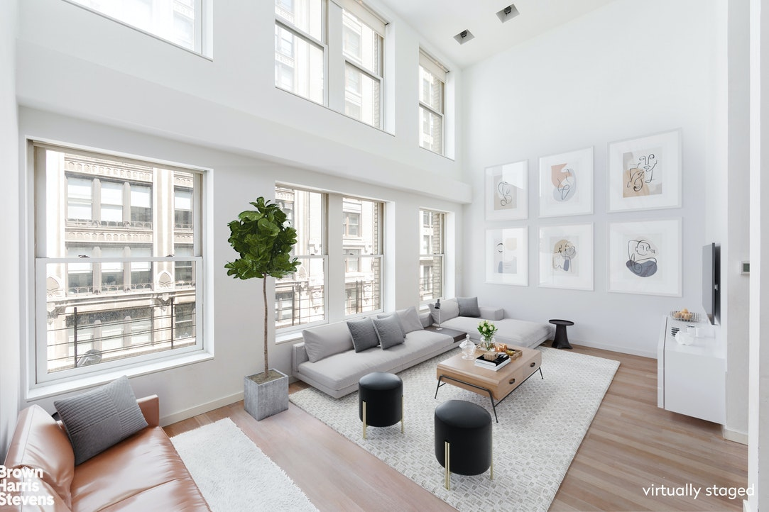 40 East 20th Street 5/6/7, Flatiron, NYC, $7,373,000, Web #: 20426021