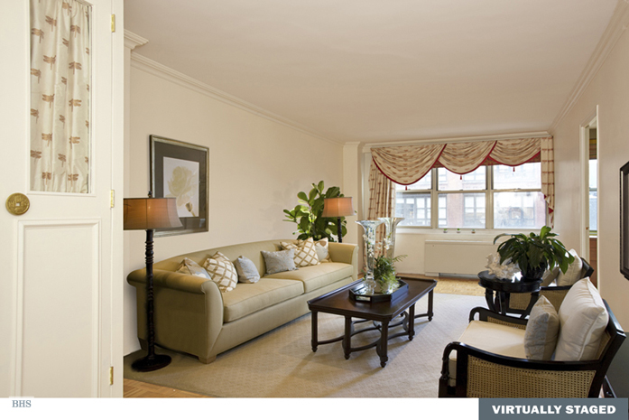 520 East 72nd Street 6D, Upper East Side, NYC, $405,000, Web #: 3811635