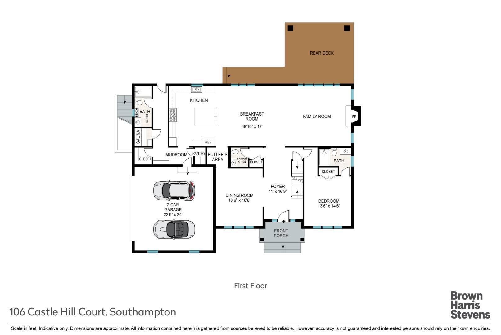 106 Castle Hill Court, North Sea, NY, $4,395,000, Web #: 868386