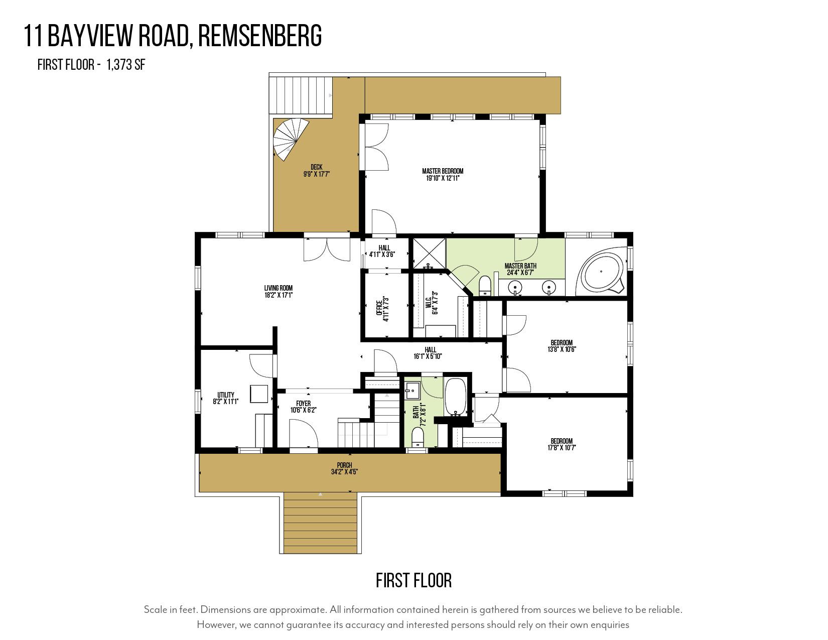11 Bayview Road, Remsenburg, NY, $1,725,000, Web #: 874099