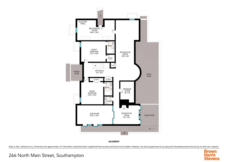 266 North Main St, Village of Southampton, NY, $4,895,000, Web #: 874683