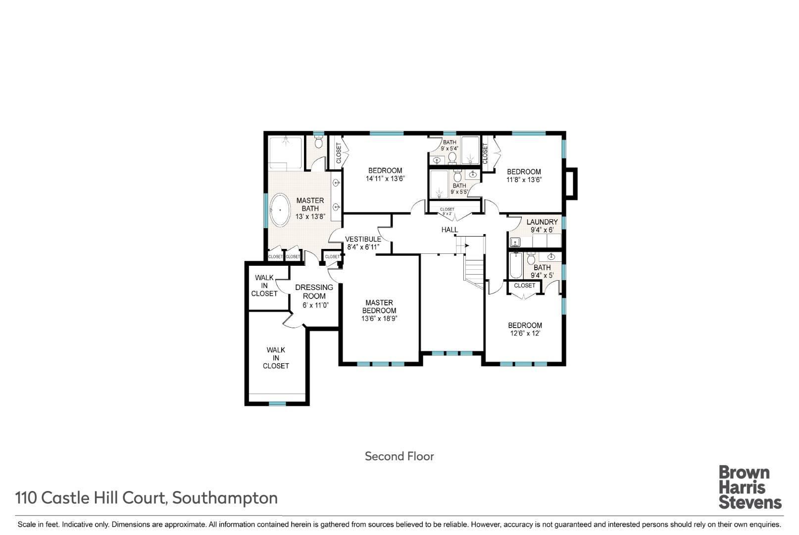 110 Castle Hill Ct, Southampton, NY, $3,795,000, Web #: 875180