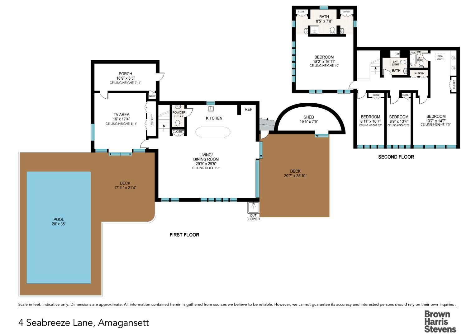 4 Seabreeze Lane, Amagansett, NY, $3,950,000, Web #: 876116